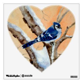 Blue Jay At Sunset Room Sticker