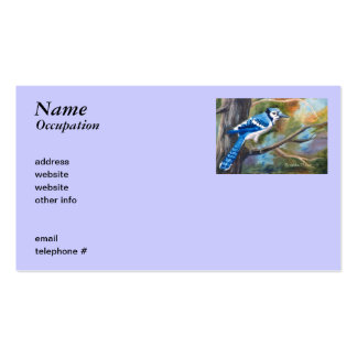 Blue Jay Business Cards