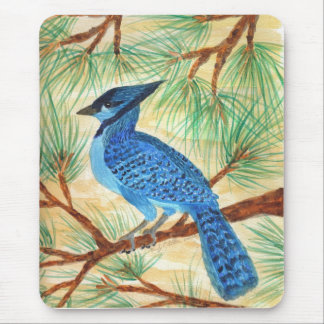 Blue Jay by Wendy C Allen Mouse Pad
