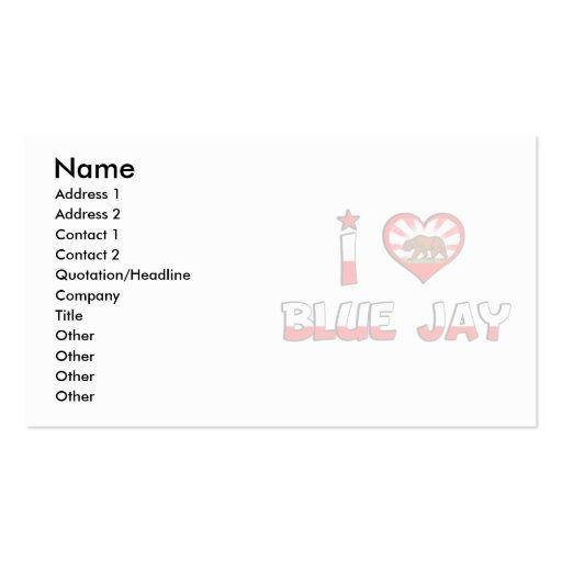 Blue Jay, CA Business Card Templates