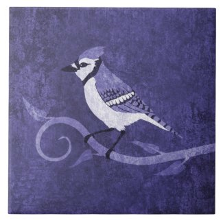 Blue Jay Ceramic Tile