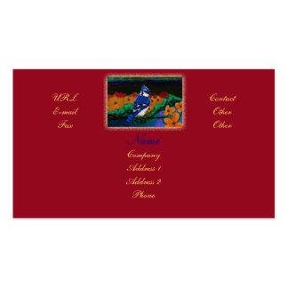 Blue Jay customizable business/profile card