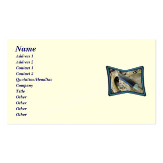 Blue Jay Feather Coordinating Items Business Card