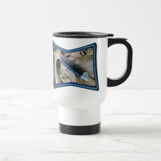 Blue Jay Feather Coordinating Items Travel Mug