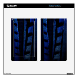 Blue jay feathers skins for kindle fire