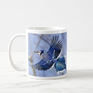 Blue Jay in Flight Mug