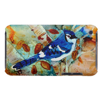 Blue Jay In the Tree Barely There iPod Covers