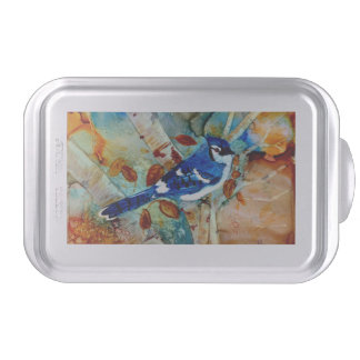 Blue Jay in the Tree Cake Pan