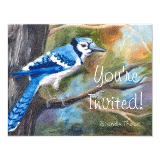 Blue Jay Invitation