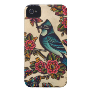 blue jay iPhone 4 cover
