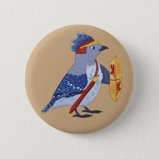 Blue Jay Knight button
