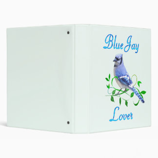 Blue Jay Lover Binder