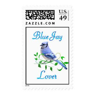 Blue Jay Lover Postage Stamp