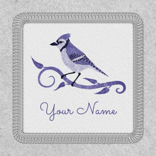 Blue Jay Name Patch