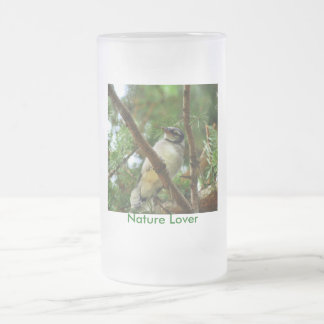 Blue Jay - Nature Lover Frosted Mug