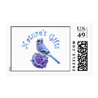 Blue Jay Nature's Gift Stamps