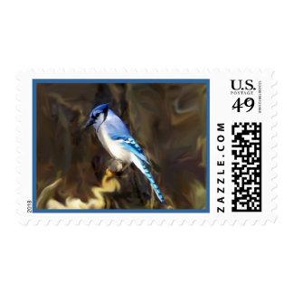 Blue Jay Postage Design