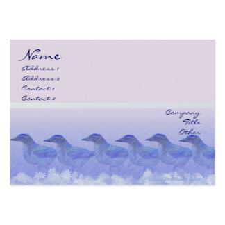 Blue Jay Row Profile Card