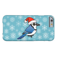 Blue Jay Santa Case-Mate Barely There iPhone 6 Case
