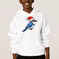 Blue Jay Santa Kids' Hanes ComfortBlend® Hoodie