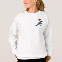 Blue Jay Santa Girls' Hanes ComfortBlend® Sweatshirt