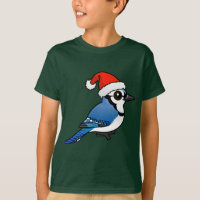 Blue Jay Santa Kids' Hanes TAGLESS® T-Shirt