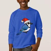 Blue Jay Santa Kids' Basic Long Sleeve T-Shirt