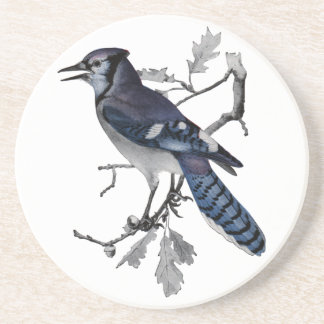 Blue Jay Vintage Cut Out Coaster