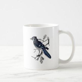 Blue Jay Vintage Cut Out Coffee Mug