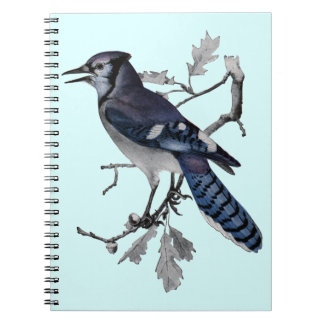 Blue Jay Vintage Cut Out Notebook