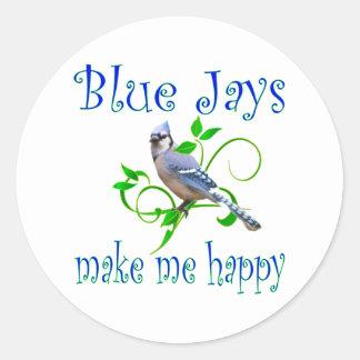Blue Jays Classic Round Sticker
