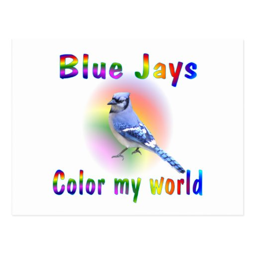 Blue Jays Color My World Post Cards