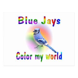 Blue Jays Color My World Postcard