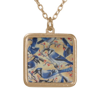 Blue Jays Gold Plated Necklace