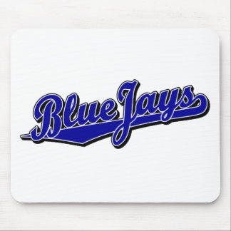 Blue Jays in Blue Mouse Pad