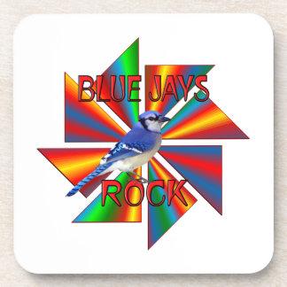 Blue Jays Rock Beverage Coaster