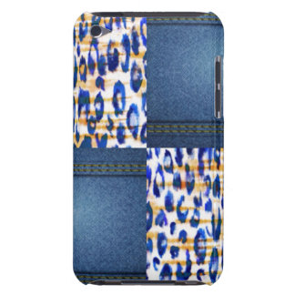 Blue Jean Animal Pattern Print Design iPod Case-Mate Case