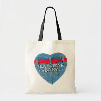 Blue Jean Baby Budget Tote Tote Bag