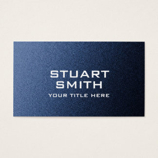 Blue Jean Background Business Card