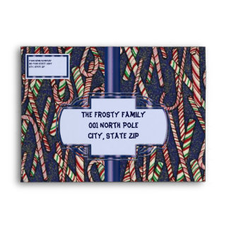 Blue Jean Candycane Envelopes