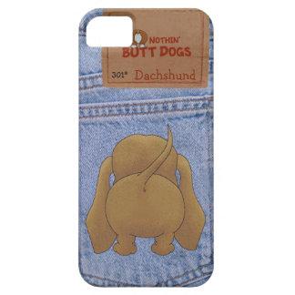 Blue Jean Dachshund Butt iPhone SE/5/5s Case
