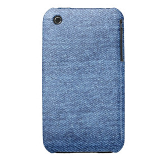Blue Jean Denim Background iPhone 3 Covers
