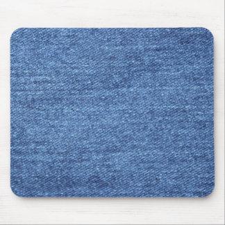 Blue Jean Denim Background Mouse Pad