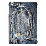 Blue Jean Denim Pocket Cover For The iPad Mini