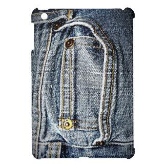 Blue Jean Denim Pocket iPad Mini Covers
