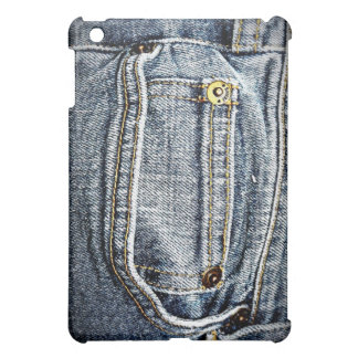 Blue Jean Denim Pocket - Personalize it! Cover For The iPad Mini