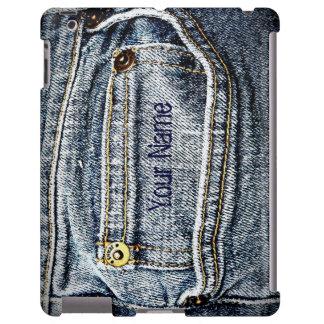 Blue Jean Denim Pocket Personalized