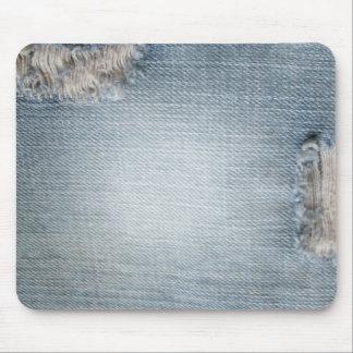 Blue Jean Design Mousepad