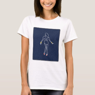 Blue jean girl T-Shirt