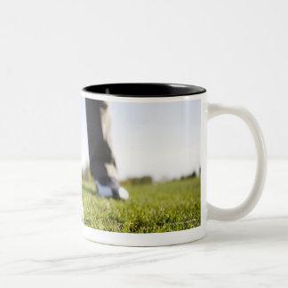 Blue Jean Images 2 Two-Tone Coffee Mug